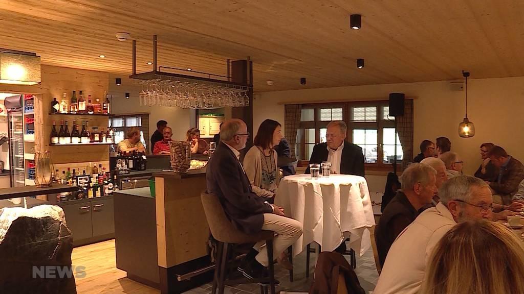 Alt-Bundesrat Schneider-Ammann als Hotelier