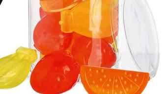Beim Eiswürfel-Set «Fruits» von Depot besteht Erstickungsgefahr.