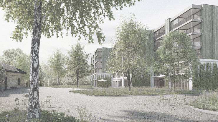 Architekturwettbewerb für Alterszenrum am Bach