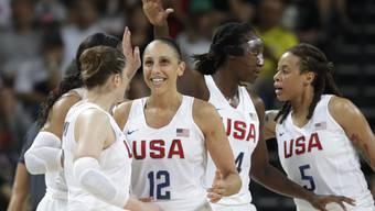 Die US-Basketballerinnen dürfen sich über das sechste Olympia-Gold in Folge freuen
