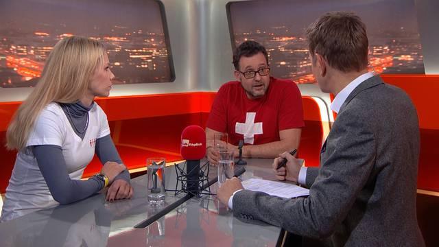 Schweizer Flüchtlingshelfer