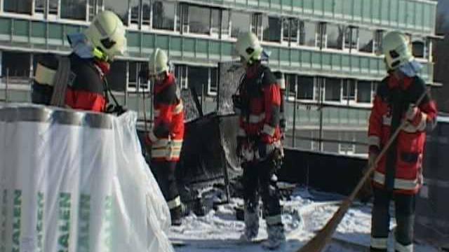 Brand beim Spital Olten