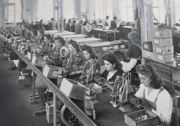 Arbeiterinnen in der ASSA 1948