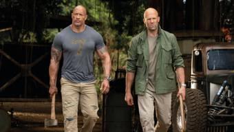 """Der Actionfilm """"Fast & Furious: Hobbs & Shaw"""" hat am Wochenende vom 1. bis 4. August 2019 in der Deutschschweiz die Spitze bei den Kinocharts übernommen. (Archiv)"""