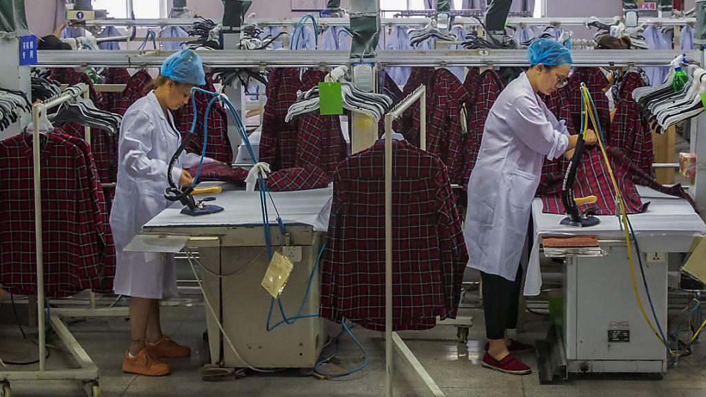 Die Erzeugerpreise in China sind den siebten Monat in Folge gefallen. (Archiv)