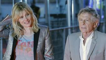 Roman Polanski und seine Ehefrau Emmanuelle Seigner (Archiv)