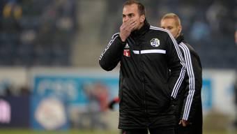 Au Backe! Trainer Markus Babbel durchlebt in Luzern eine heikle Phase.