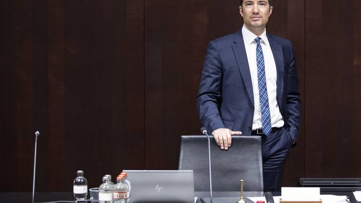 Macht einen Gegenvorschlag zur hängigen Justiz-Initiative: Andrea Caroni, Gerichtskommissionspräsident und Ständerat (FDP/AR).