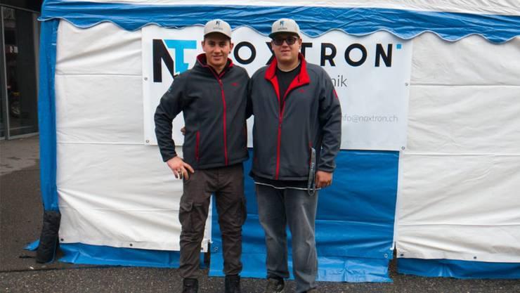 Reto Bruderer (links) und Ivan Bühler sind als Noxtron-Crew unterwegs.