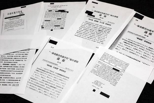 Die «China Cables»-Dokumente beweisen, dass in China die Uiguren systematisch unterdrückt werden. (Bildquelle: AP)