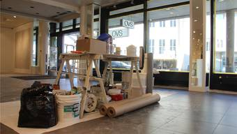 Derzeit wird der ehemalige OVS-Laden an der Zentralstrasse 23 renoviert, am 2. November soll hier die neue C&A-Filiale eröffnen.