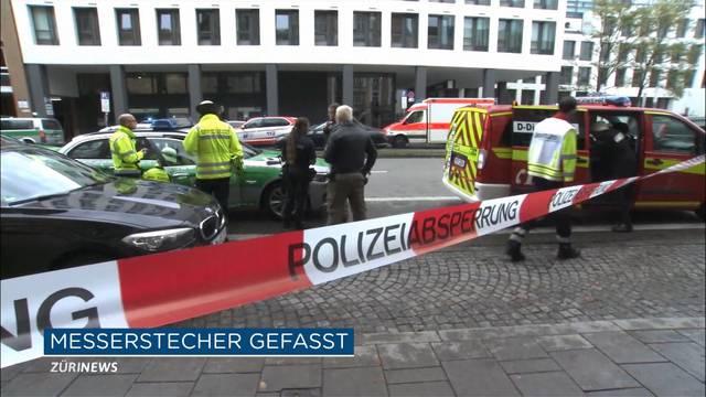 Mindestens 8 Verletzte bei Messerangriff in München