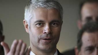 Die Mitglieder der französischen Konservativen haben ihn zum neuen Parteichef gewählt: Hardliner Laurent Wauquiez. (Archiv)