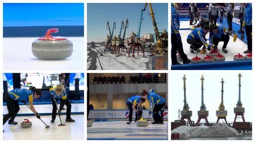 Curling am Ende der Welt