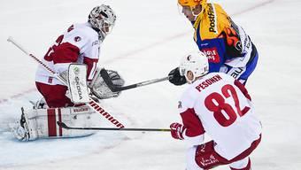 Der Davoser Topskorer Perttu Lindgren erzielte beim 7:5-Heimsieg gegen Lausanne gleich zwei Tore in Unterzahl