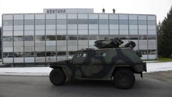 Militärübung in Bellach