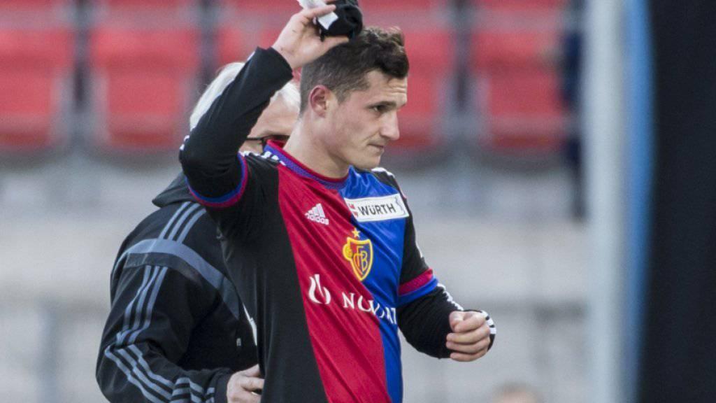 Vier Spielsperren: Basels Taulant Xhaka muss am Sonntag gegen Vaduz zuschauen