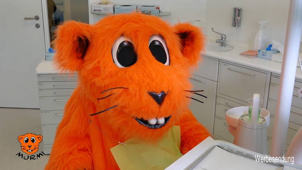 Murmi beim Zahnarzt