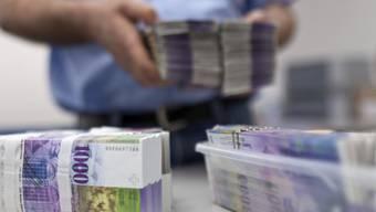 52 Millionen Franken erwartet der Kanton Aargau von der SNB. (Symbolbild)
