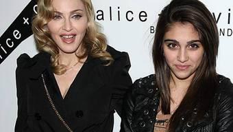 Madonna mit ihrer ältesten Tochter Lourdes (Archiv)