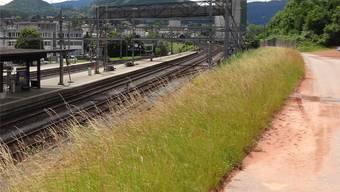 Noch keine Entscheide getroffen für die rückwärtige Erschliessung des Bahnhofs Frick. chr