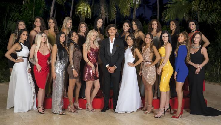Das sind die 21 Kandidatinnen, die um das Herz von Bachelor Patric buhlen.