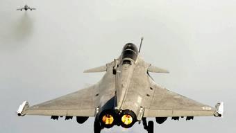 Französischer Kampfjet vom Typ Rafale..JPG