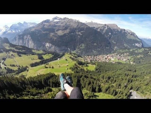 Jamie Lee in der Schweiz.