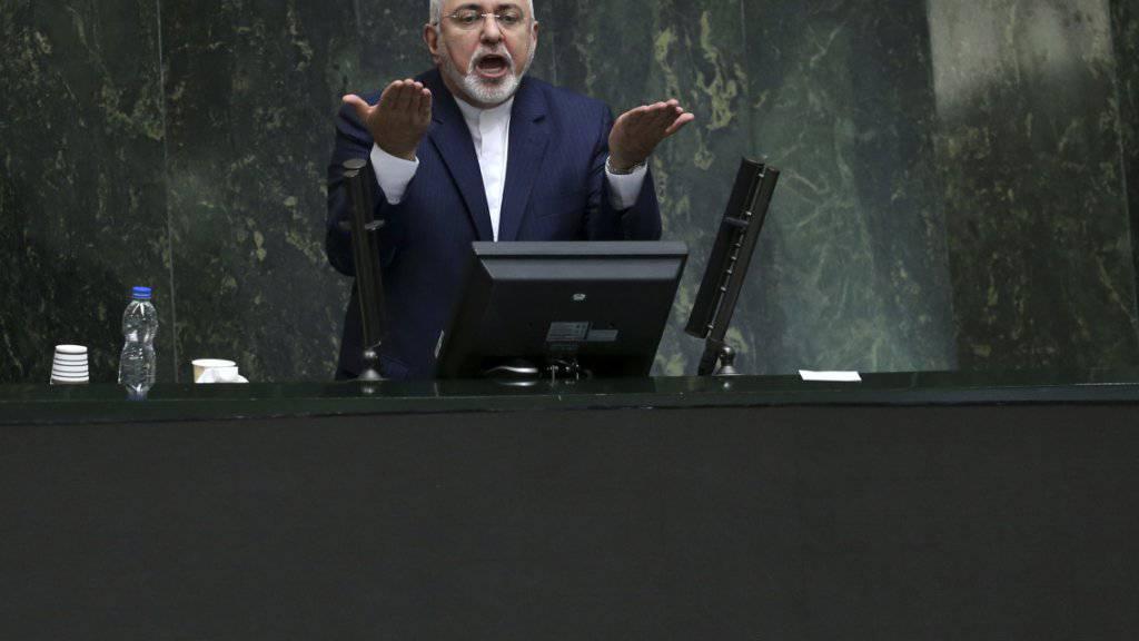 Irans Aussenminister Sarif erklärt Rücktritt