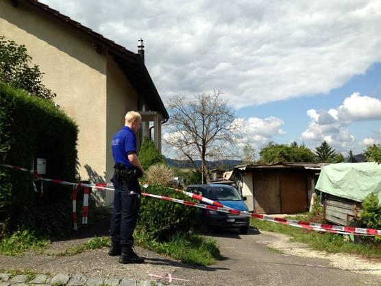 Der Tatort: In diesem Haus erschoss Mitte August 2013 der Karl J. (48) seinen Bruder Ernst J. (55).