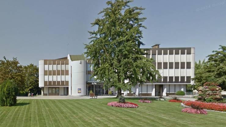 Blick auf das Gemeindehaus Möhlin.