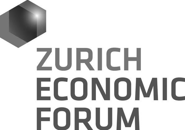 Das Logo des Zurich Economic Forum ...