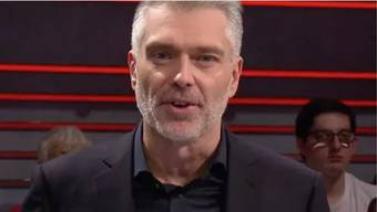 Arena-Moderator Sandro Brotz.