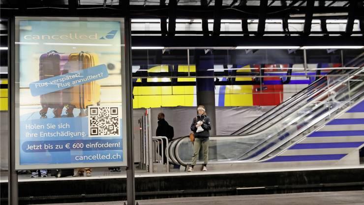 Das Fluggastrecht-Portal Cancelled.ch kann nun doch noch in der Nähe seiner potenziellen Kunden werben.