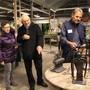 Erstaunlich, was man mit Alteisen alles machen kann: Die Kunsthandwerk-Ausstellung faszinierte die Besucherinnen und Besucher. Carolin Frei