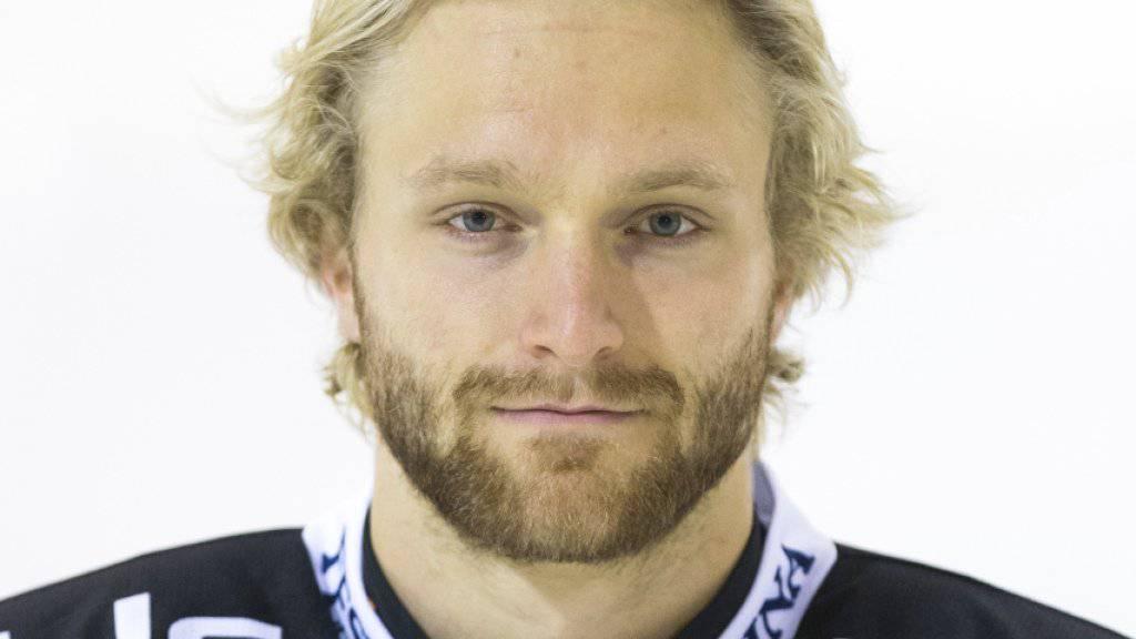 Flurin Randegger spielt in der kommenden Saison für die SCL Tigers
