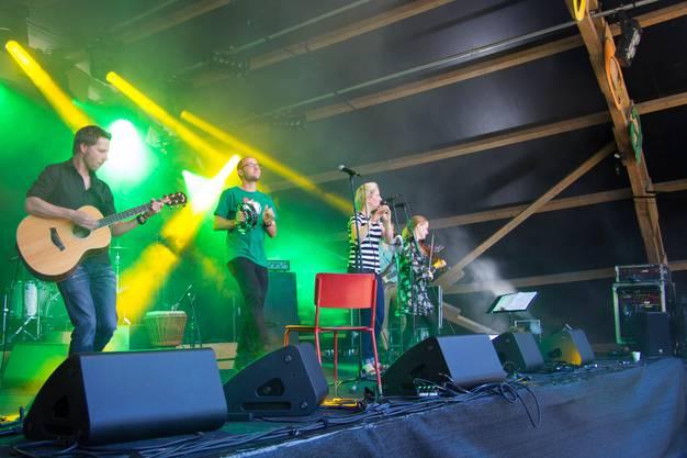 Zamba Loca '15 Pubside Down, Folk-Rockband 3