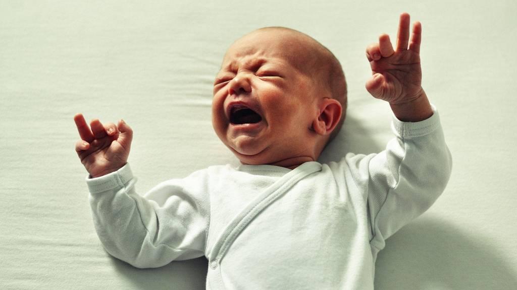 Babys reagieren auf unangenehme Gerüche mit starkem Weinen