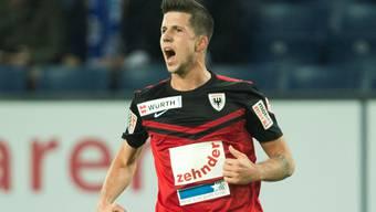Sandro Wieser: Für seinen Ausraster gegen Schöftland erhält er eine weitere Spielsperre.  Sigi Tischler/Keystone