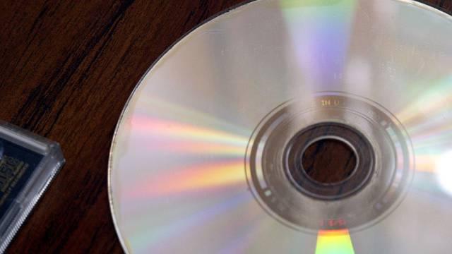 CD mit Steuerdaten (Symbolbild)