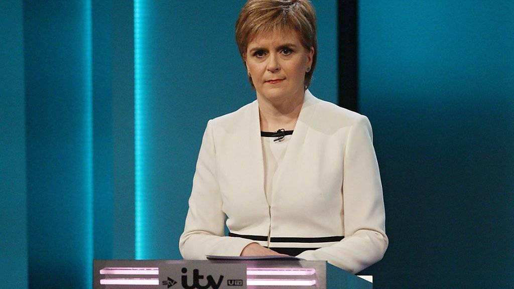 Schottland wolle eigene Gespräche mit der EU aufnehmen, sagte Regierungschefin Nicola Sturgeon. (Archiv)