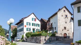 Das Gemeindehaus in Oetwil.