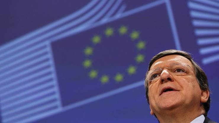 Kommissionspräsident José Manuel Barroso.