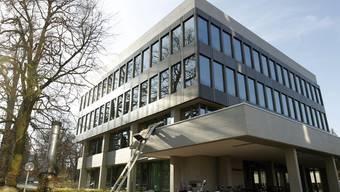 Das Obergericht in Aarau