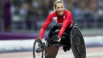 Zweite Medaille für Edith Wolf-Hunkeler an den Paralympics.