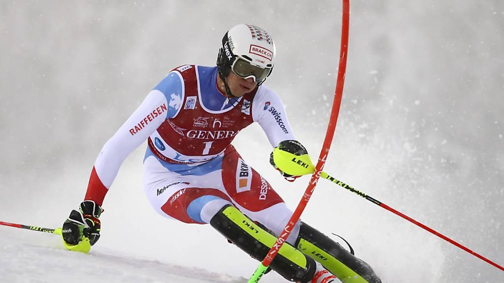 Eröffnete in Levi mit der Startnummer 1 die Slalom-Weltcupsaison: der Walliser Ramon Zenhäusern.
