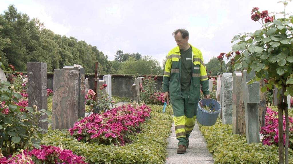 Treffpunkt Friedhof: Kein Beruf, sondern eine Berufung