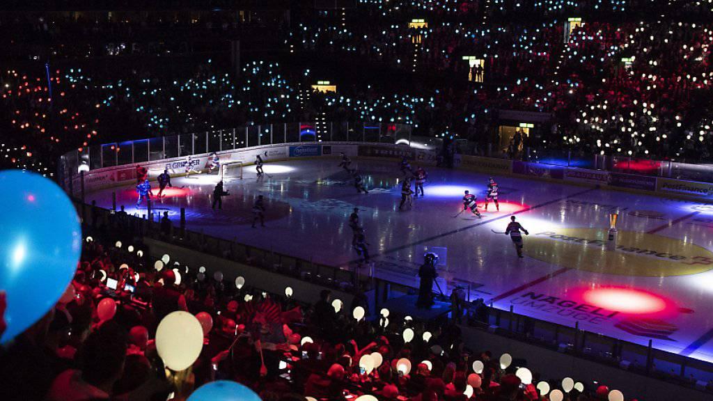 Das Zürcher Hallenstadion ist im kommenden November Schauplatz von zwei Ligaspielen der KHL