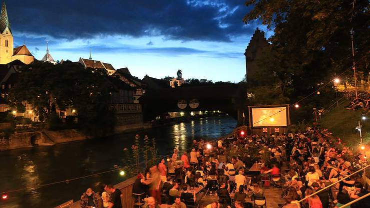Sonntag und Montag gibt es in Birsfelden das Cinema Sud, das mit Solarenergie betrieben wird.