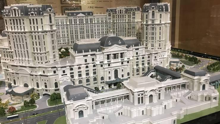 <p>So soll das&nbsp;&laquo;Grand Lisboa Palace&raquo;&nbsp;einmal aussehen.&nbsp;</p>